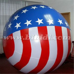 Round Parade Helium Balloon, Inflatable Sphercial Helium Balloon K7173 pictures & photos