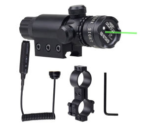Tactical Hunting Adjustable Green Laser Scope Laser Sight for Pistol pictures & photos