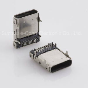 High Speed USB Type C 3.1/3.0 Connector Universal Serial Bus (USB) Shielded I/O Cable Assembly pictures & photos