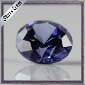 Top Quality Tanzanite Blue Cubic Zirconia for Noble Jewellry Set pictures & photos