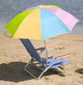 Nasb-3m Promotional Aluminum Beach Umbrella for Sale pictures & photos