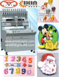 PVC Gifts Molding Machine Dual Side Gifts Making Machine pictures & photos