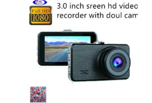 HD Car DVR/Black Box/Video Recorder/Car Cameras with 3.0screen Doul Cameras