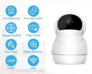 Night Vision Wireless Digital Video Audio Baby Monitor WiFi IP Camera pictures & photos