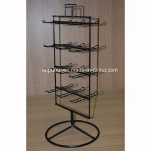 Wire and Metal 6 Peg Hooks Counter Rack (PHY183) pictures & photos