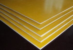 Yellow Film Faced Plywood - 2 pictures & photos