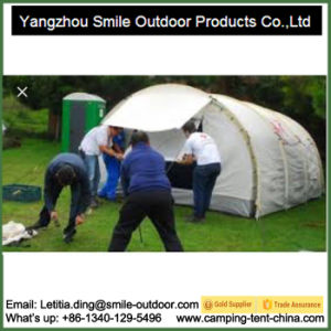 3 Person Pakistan Camp Event Glamping Cotton Canvas Waterproof Tent pictures & photos