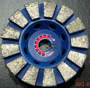 Fan-Shaped Grinding Wheel for Polishing Stone pictures & photos