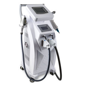 Factory Two Screen Control IPL Shr Hair Removal Skin Care Tattoo Removal Device Laser Machine pictures & photos
