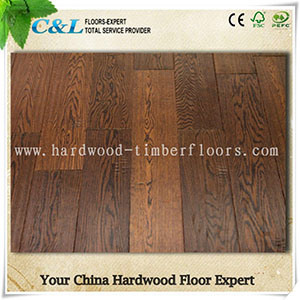 Popular Distressed Oak Engineered Flooring