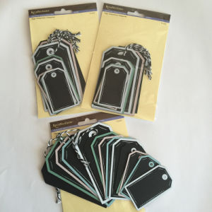 Assorted Paper Chalk Tag / Customize Chalkboard Tag pictures & photos