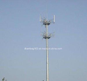 Communication, Telecommunication Monopole Steel Tower pictures & photos