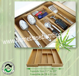 in Drawer Storage Expandable Cutlery Flatware Tray Organizers Storage Box - Hb104 pictures & photos
