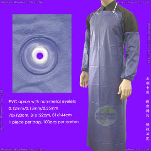 Disposable Waterproof PVC Apron pictures & photos