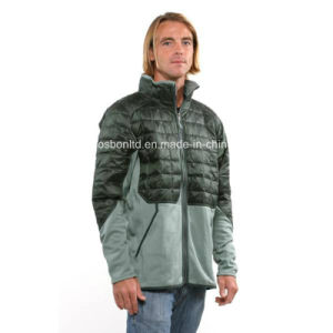 Men′s Verdigris Smoked Green Hybrid Down Jacket pictures & photos