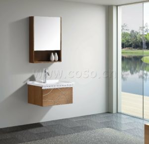 Formaldehyde Free Greenerwood Bathroom Cabinet (EW1319) pictures & photos