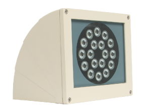 9W/18W LED Wall Light With10mm Tempered