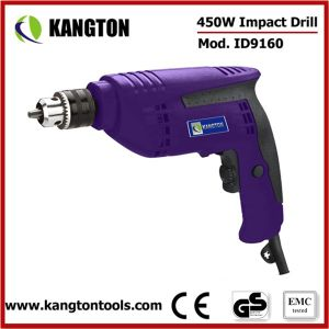 10mm Electric Drill 450W Drilling Machine (KTP-ID9160) pictures & photos