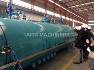 High Quality Siemenz PLC Extruded Rubber Products Autoclave Vulcanizer pictures & photos