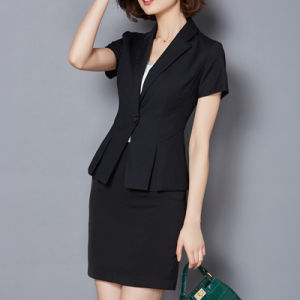 Hot Selling Fashion Women Slim Fit Blazer Suits pictures & photos