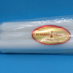 Hot Sale Cut off 20% Paraffin White Candle to Mideast Market pictures & photos