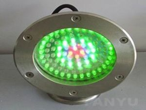 12/24V 7*1W Underground RGB LED Light pictures & photos