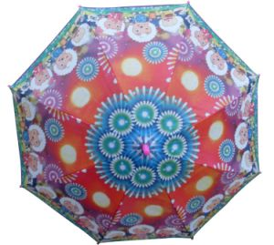 Heart Transfer Printing Kids Umbrella (BR-ST-66) pictures & photos