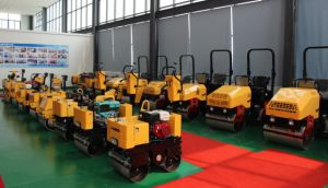 800kg Double Drum Roller Vibratory Compactor pictures & photos
