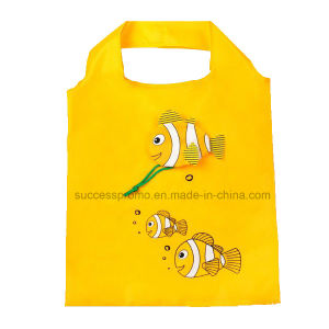 Custom Fish Shaped Foldable Storable Reusable Shopping Bag pictures & photos