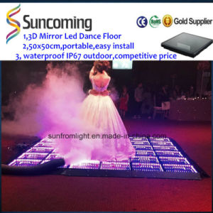 SMD 5050 3D Effect Infinity LED Dance Floor pictures & photos