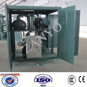 on-Site High-VAC Automatic High Vacuum Dielectric Oil Purifier Machine