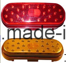 6′′ Oval Shape LED Side Light Tail Light pictures & photos