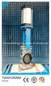 Pneumatic Actuator Stainless Steel Lugged Knife Gate Valve pictures & photos