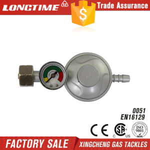 Zinc Material Gas Regulator with Meter