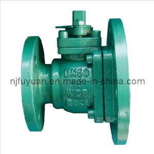 PTFE Lined Baiting Ball Valve pictures & photos