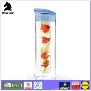 800ml Infuser Water Bottle Free Plastic Mug with Infuser