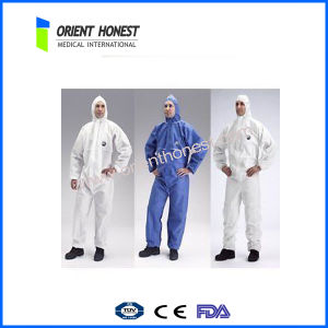 Disposable Oil Resistant and Waterproof Coverall