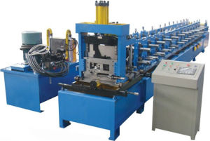 Adjustable C Z Purlin Roll Forming Machine for Auto Cutting and Punching