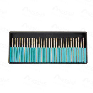 Useful Electric Nail Drill Bit 3/32 File Shank Manicure Pedicure 30p Bits Tools