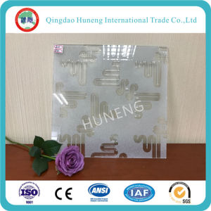 Clear Decorative Glass with UV Technology