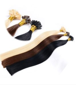 Fine Quality Pre-Bond Keratin I Tip Human Hair Extensions pictures & photos