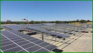 OEM ODM Custom Ground Mount Solar Cell Aluminum Bracket