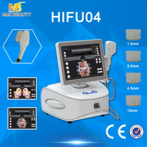 Smas Contraction Portable High Intensity Focused Ultrasound Hifu Equipment pictures & photos