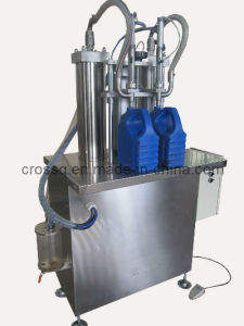 2 Nozzles Filling Machine for Liquid FM-Sdv