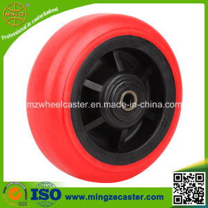 "4""/5""/6""/8"" Polyurethane Plastic Wheel for Cart pictures & photos"