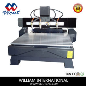3 Aixs/4 Axis Wood CNC Router Machine CNC Woodworking Router Vct-1518fr-4h pictures & photos