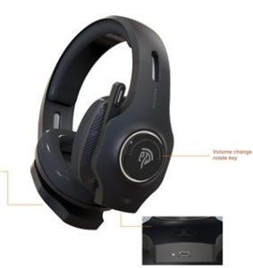 China Easysmx Vip 002w Wireless Gaming Headset With Foldable Mic China Gaming Headphone And Gaming Stereo Headphone Price