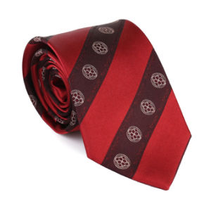 100%Silk Logo Tie pictures & photos