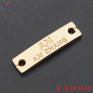 46e3f408a27b China Custom Die Casting Metal Brand Tag Label for Handbag - China ...