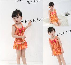 3baedf8443 Baby Girls One Piece Skirt Swimsuit Disney Toddler Swimwear Polka DOT Swim  Clothes